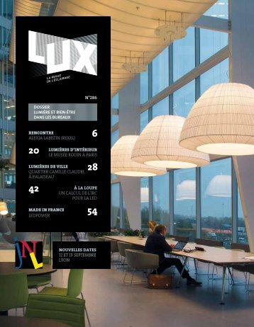 LUX 286 - LUX, la revue de l'éclairage (Avril 2016)