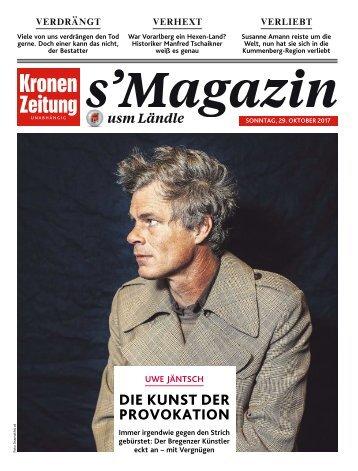 s'Magazin usm Ländle, 29. Oktober 2017