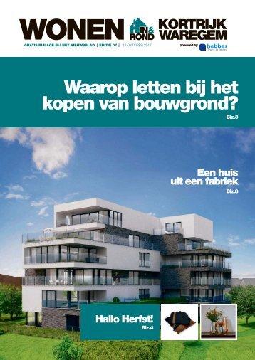 Wonen in Kortrijk-Waregem 7
