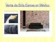 Venta de Sofa Camas en México