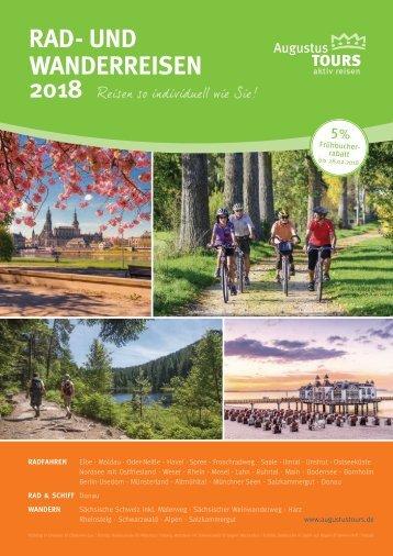 AugustusTours Katalog Rad- und Wanderreisen 2018
