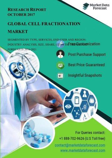 Cell fraction Market