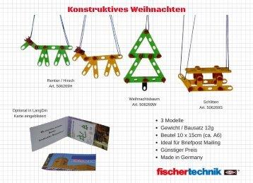 Konstruktives Weihnachten