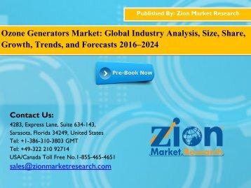Ozone Generators Market