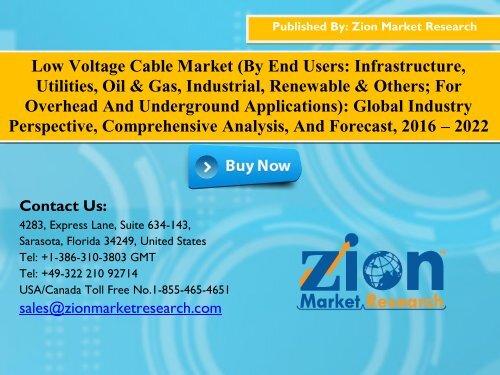 Low Voltage Cable Market