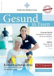 Gesund in Essen - Patientenzeitschrift #8