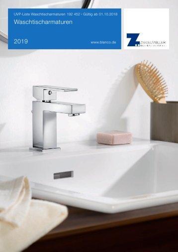 Blanco Waschtischarmaturen 2018