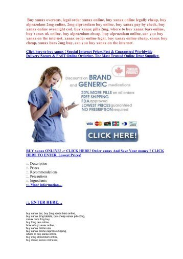 Buy generic xanax bars online.buy xanax alprazolam online,