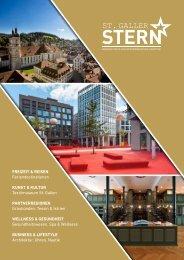 St. Galler Stern Ausgabe 1 online · Hochglanzmagazin