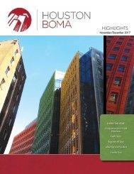 BOMA Highlights November/December 2017 TOBY Edition