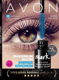 avon k12 Kasım Katalogu