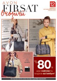 avon k12 Kasım fırsat broşürü