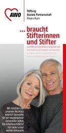 … braucht Stifte - AWO Bezirksverband Niederrhein eV