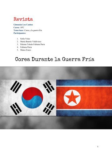 Revista corea. sociales