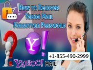 yahoo mail help number +1-855-490-2999