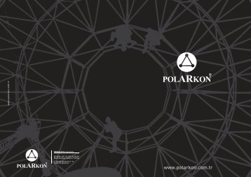 Polarkon A.Ş Kurumsal Katalog