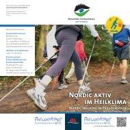 Nordic Walking im Heilklima
