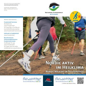 Nordic Walking im Heilklima