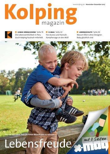 Kolpingmagazin 11-12 2017