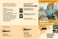 Seniorendienste Remscheid I