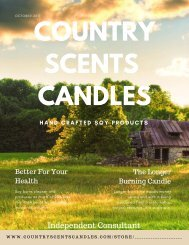 Country Scents Candles Fall Catalog Pt1