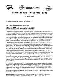 Gemeinsame Pressemeldung 2l.Mai2007 - AWO Bezirksverband ...