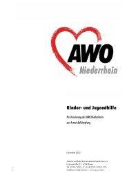 Kinder- und Jugendhilfe - AWO Bezirksverband Niederrhein eV