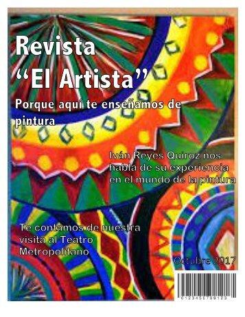 """Proyecto revista """"El Artista"""""""