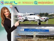 Now Get Sky Air Ambulance from Kolkata to Delhi in an Economical Fare