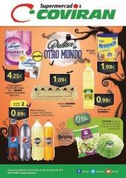 Folleto Ofertas Supermercados Covirán hasta 4 de Noviembre 2017