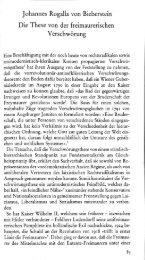 Johannes Rogalla von BIEBERSTEIN, Die These von der freimaurerischen Verschwörung in Helmut Reinalter, Hg., Freimaurer und Geheimbünde im 18. Jahrhundert im Mittelalter, Frankfurt a. M. 1983, 85