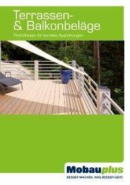 Profiwissen Terrassen- & Balkonbeläge