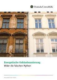 Ratgeber Energetische Gebäudesanierung