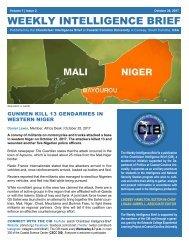 CIB Weekly Intelligence Brief | Vol. 01 | Iss. 02