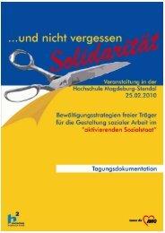 nicht vergessen, Solidarität - AWO Sachsen-Anhalt