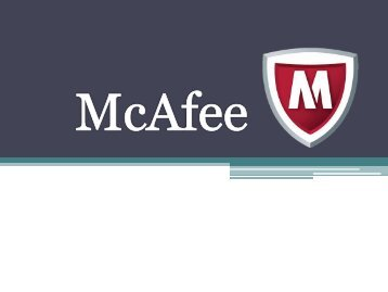 McAfee Activate(30 Oct,2017)