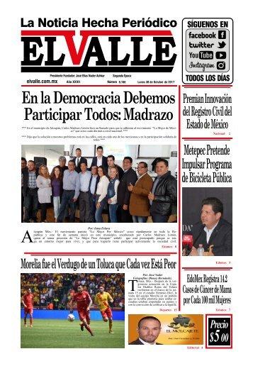 Edición del día Lunes 30 de Octubre