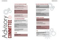 ANNUAL REPORT 2016 advisory commitee