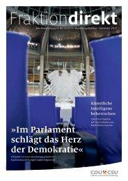Fraktion Direkt - Das Magazin 11/2017