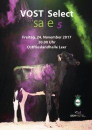 Katalog VOST Select Sale 2017