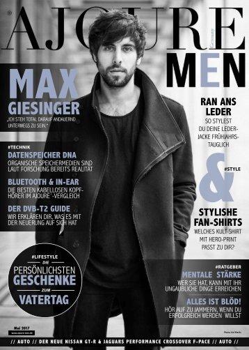 AJOURE´ Men Magazin Juli 2017