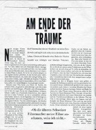 Das Magazin 1992 – Am Ende der Träume