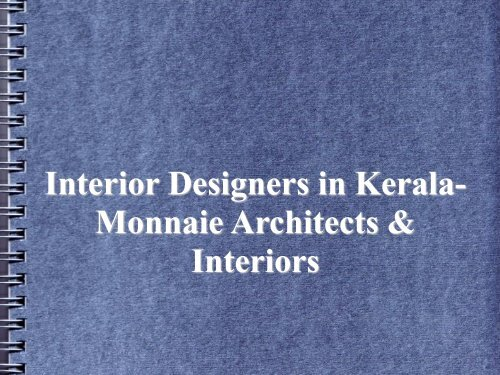 Interior Designers in Kerala