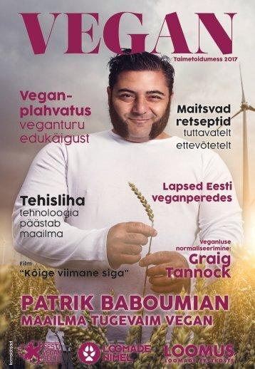 Ajakiri Vegan Taimetoidumess 2017