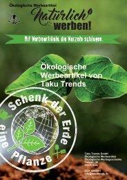 Ökologische Werbeartikel Katalog