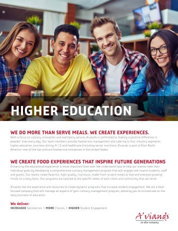 A'viands_Higher Education_Slick_042517_Digital
