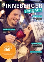 Pinneberger SCHNACK November/Dezember 2017 3. Ausgabe