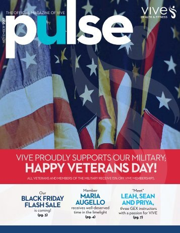 VIVE Health & Fitness | November Pulse