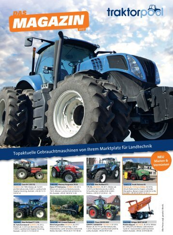 traktorpool Magazin 2017