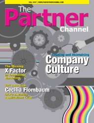The Partner Channel Magazine Fall 2017